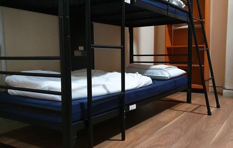 Bed in an hostel in London