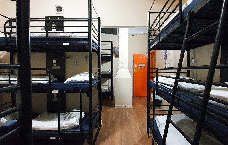 Hostel dormitory London